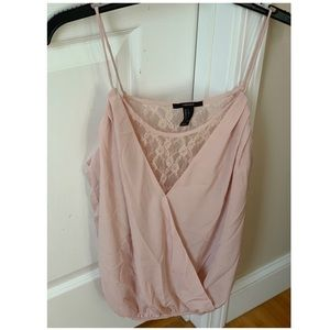 Forever 21 Lace Camisole Top
